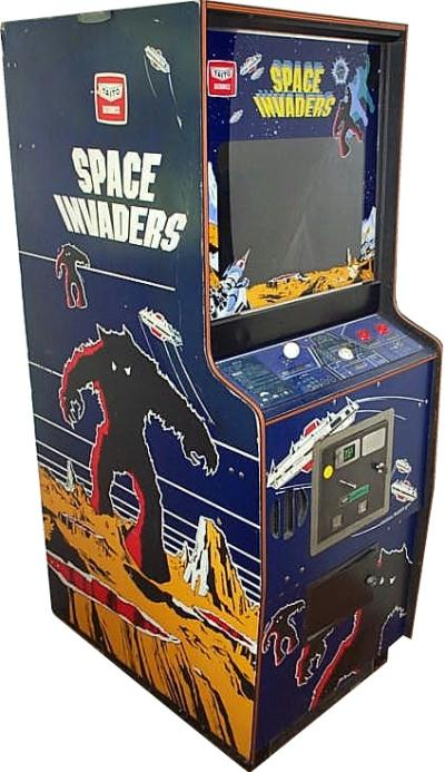 space invaders machine