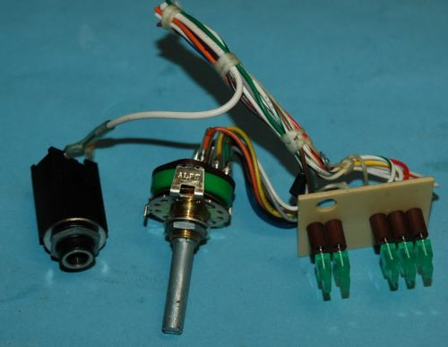 PB9A316 Test Osc Switch and EQ REF LED board