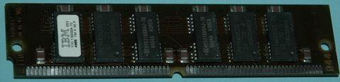 1Mx36 (4MB) IBM 72 pin simm