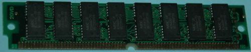1Mx32 (4MB) 72 pin simm