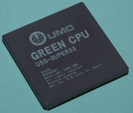 UMC Green CPU Super33