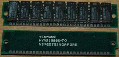 1MB (1Mx9) Siemens 70ns