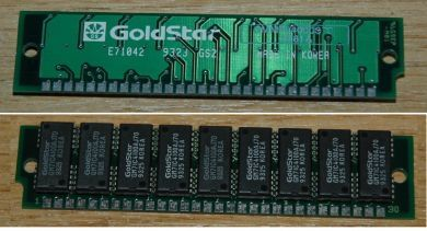 4MB (4Mx9) Goldstar 70ns
