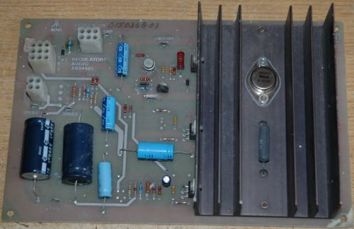 Regulator/Audio board (AR1)