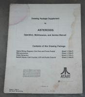 Asteroids Schematic sheet 1 4th