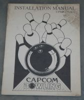 Capcom Bowling upright kit