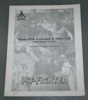 Pit-Fighter PCB Parts List
