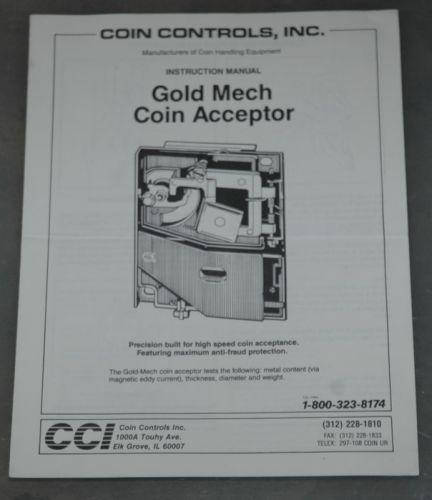 Gold Mech Coin Acceptor