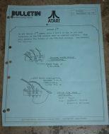 Atari Service Bulletin B-0045 Sprint 2